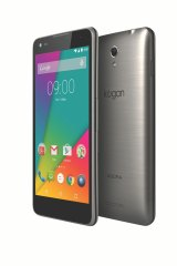The Agora 4G Pro is less than a centimetre thick at its thinnest point, and weighs 142 grams.