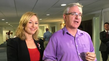 Senator Larissa Waters and Andrew Bartlett are one and two respectively on the Greens' Queensland Senate ballot.