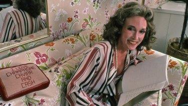 The late Cosmopolitan editor Helen Gurley Brown in her New York office in 1982.