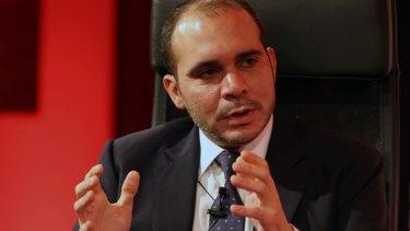 Prince Ali bin Hussein.