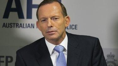 Under fire: Tony Abbott.