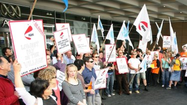 The last time the ABC was hit with strikes was in 2006, when thousands of workers walked off the job.
