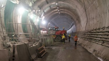 Work on the Legacy Way tunnel is expected to be completed by the middle of the year but only one in five Brisbane residents say they will use it.