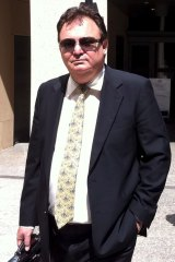 Peter Foster outside court in 2013.
