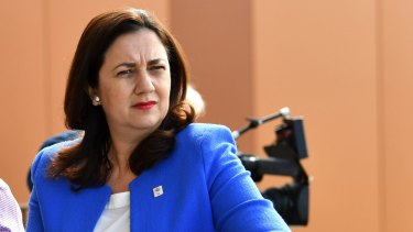"""Queensland Premier Annastacia Palaszczuk: """"I want to look at what other levers of government are open for me to apply to stop this dumping of NSW waste."""""""