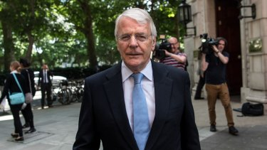 Former Conservative Prime Minister John Major