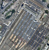 How the Central Station would look with solar panels.