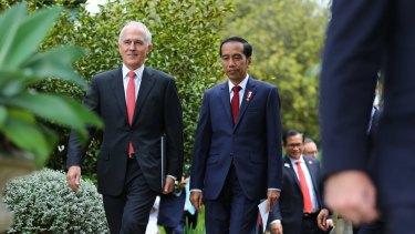 Prime Minister Malcolm Turnbull and Indonesian President Joko Widodo want the free trade deal concluded by the end of this year.