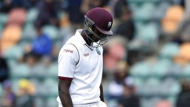 Fined: West Indies captain Jason Holder.