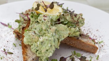 A nice spread of smashed avo could easily send you back $15.