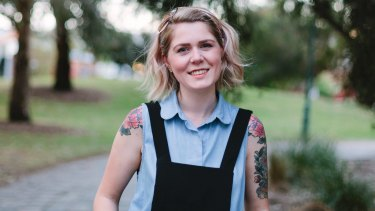 Ally Watson, co-founder of Code Like A Girl: being the only woman in an office of 40 'sucked'.