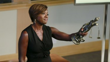 Viola Davis enjoys the fact that her character takes her out of her comfort zone and was drawn to the role because of the quality of the material.