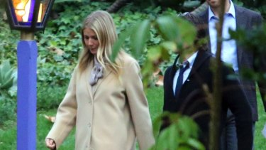 Gwyneth Paltrow, whose boyfriend, Brad Falchuk, is co-creator of Scream Queens, which stars Fisher's daughter, Billie Lourd, came to pay her respects.