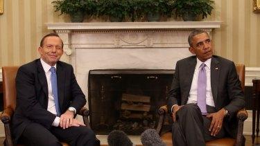 Unvarnished and strategic: Tony Abbott with US President Barack Obama.