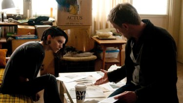 Rooney Mara and Daniel Craig star in 2011's <i>The Girl With the Dragon Tattoo</i>.