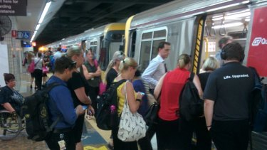 Cross River Rail would take pressure off services at Central Station.