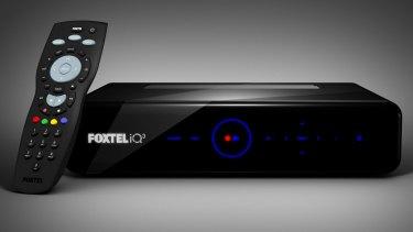 Foxtel's iQ3 video recording device.