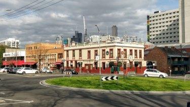 The Corkman Irish pub in Carlton, built in 1857, as it was last October.