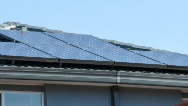 Green alternative: Investors are being matched with borrowers to install solar panels.