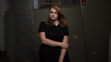 Art student Bex says society needs to be more open about mental illness.