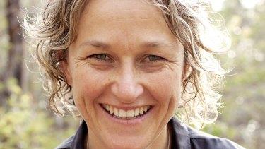 A sense of wonder: Author Inga Simpson.