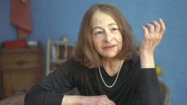 Australian author Madeleine St John.