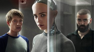 Science fiction: Alex Garland's <i>Ex Machina</i> is one of thousands of films to explore the idea of hostile AI.