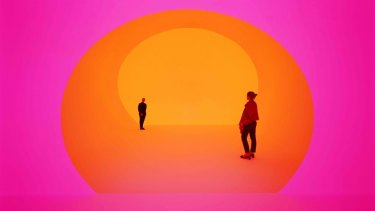 Akhob, 2013, from James Turrell's series Ganzfelds. A Ganzfelds work will be housed in the new wing of Hobart's Museum of Old and New Art.