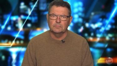 Steve Price representing the under-represented 'old white men'.
