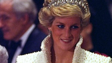 Diana, Princess of Wales, an official visit to Hong Kong in 1989.