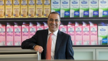 Murray Goulburn's managing director, Gary Helou, says the co-operative is paying farmers what it can afford.