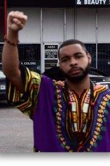 Suspect Dallas gunman Micah Johnson.