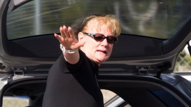 On a rescue mission: Karen Nettleton, seen here in Sydney.