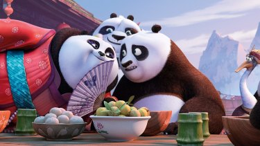 In <i>Kung Fu Panda 3</i>, Bryan Cranston voices the role of Li Shan, the father of Po.