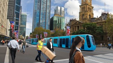 Consortium pulls out: Concerns about digging up George Street for a light-rail line spurred a bidder's withdrawal.