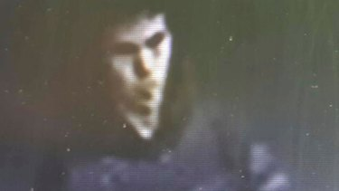 The man identified by police as the main suspect in the New Year's Day terror attack at an Istanbul nightclub, captured on CCTV before the attack.