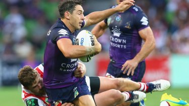 Not rushing into a decision: Billy Slater.