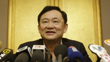 Thaksin Shinawatra fled Thailand to avoid a jail sentence on corruption charges in 2008.