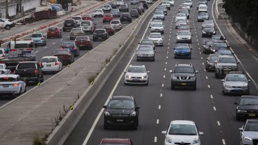 Tolls are due to be reintroduced on Sydney's M4 in June.