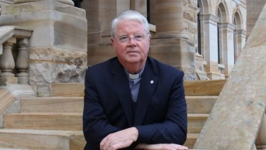 Father Ross Jones of St Ignatius' College wrote a note to staff and parents about the postal survey.
