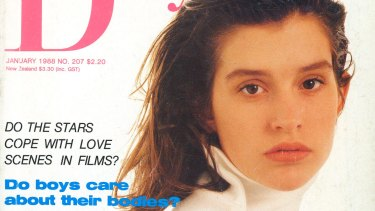 Kate Fischer on the cover of Dolly magazine