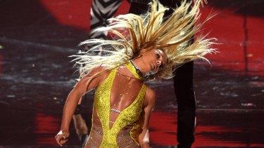 Britney Spears' ninth album drips with relentless innuendo.