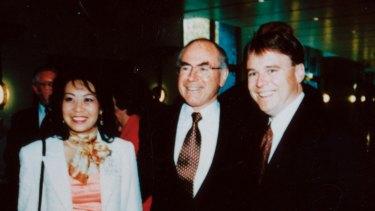 Helen Liu, John Howard and Joel Fitzgibbon.