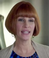 Julia Roberts' questionable ginger wig in <i>Mother's Day</i>.