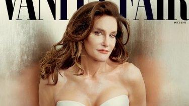 Caitlyn Jenner on the cover of <i>Vanity Fair</i> magazine.