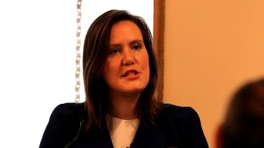 Kelly O'Dwyer, assistant treasurer and sitting member for Higgins, has been the target of the union robocalls.