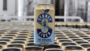 A new can design for Sydney Cider's The Original, launching in early 2021.