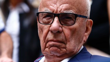 Rupert Murdoch has vowed to continue to fight the threat coming from tech giants.