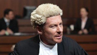 Richard Roxburgh, as Cleaver Greene in the TV series <i>Rake</i>.