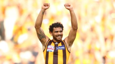 Cyril Rioli: Best on ground.
